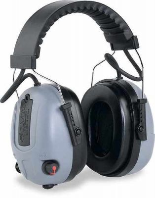 Elvex-Com655 Electronic Ear Muffs with volume control for front facing microphones.