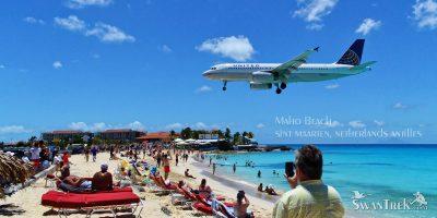 Maho Beach, Sint Maarten, Netherland antilles, Caribbean